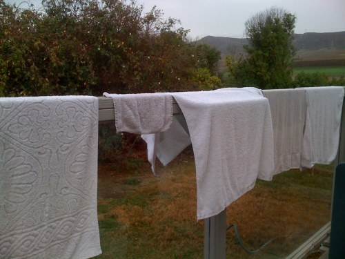 "My current ""clothesline"""