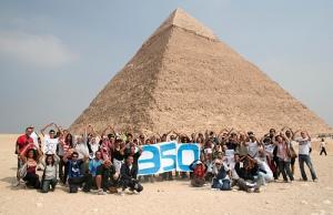 350 Pyramids Action